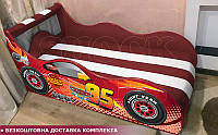Кровать машина ТАЧКИ NEW Hipe Drive комплект от 1500х700