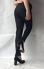 Женские летние штаны, №23 лен жатка черный, фото 3