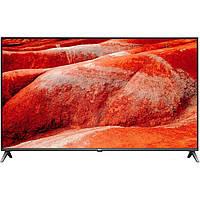 Телевизор LG 55UM7510 лж 55 дюйма 4К со смарт тв черный, тонкий