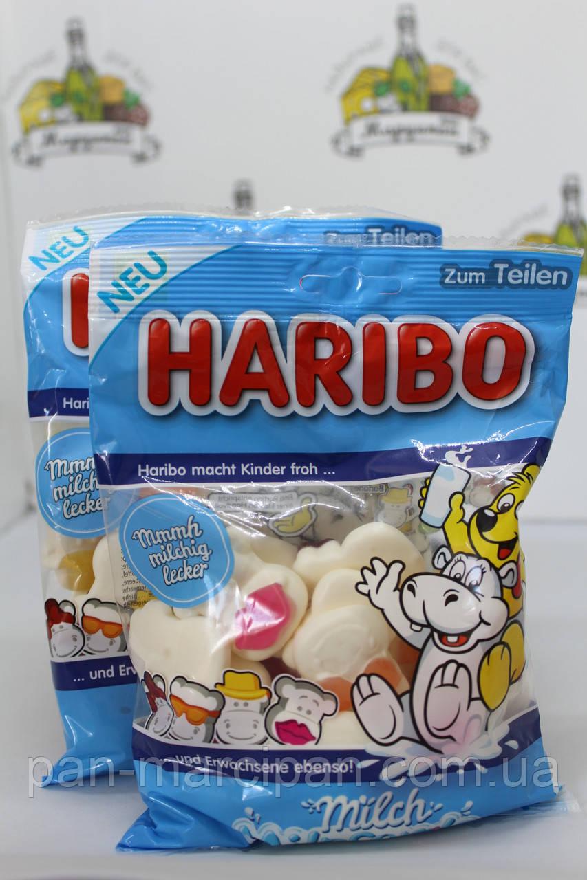 Желейки Haribo Milch Milppferde 175 г Німеччина