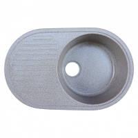 Кухонная мойка (гранит) Platinum  ASTORIA 7346 серый мусон