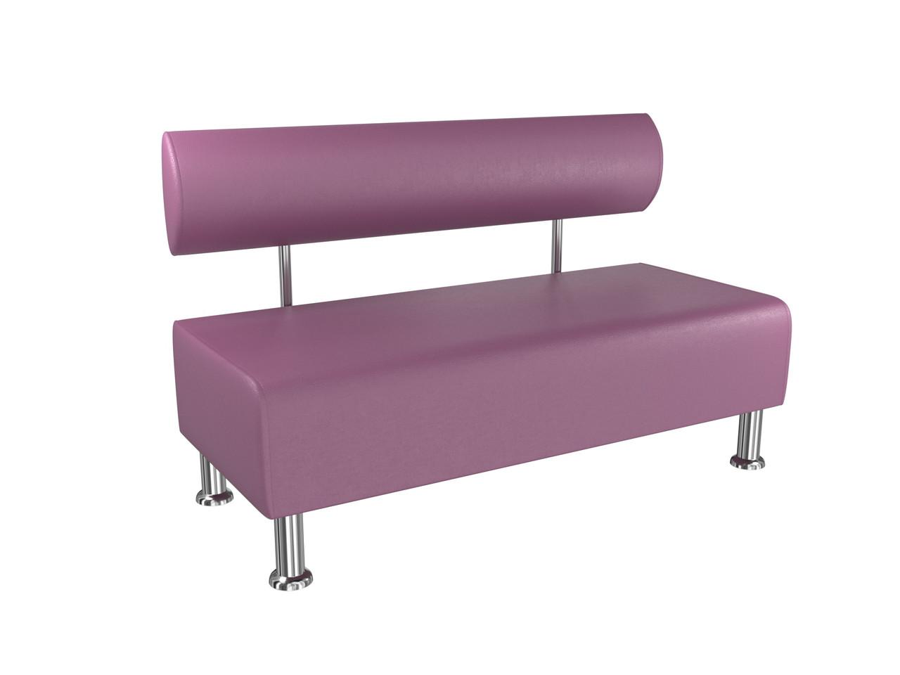Диван BNB Solo1200x540x750 фиолетовый. Для школы, больницы, приемной, ожидания