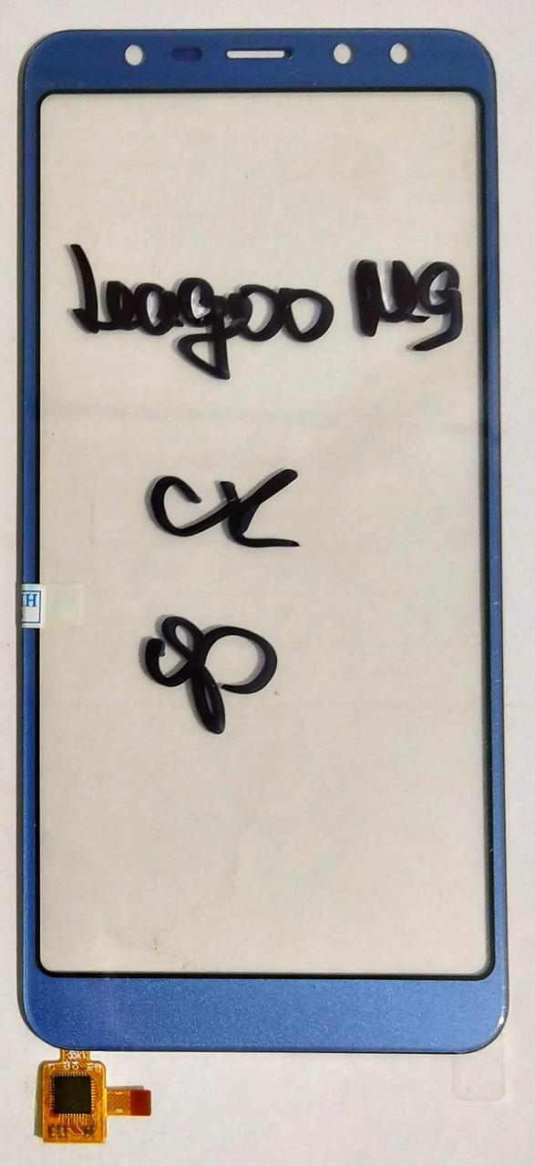 Сенсор (тачскрін) для LEAGOO M9 Blue