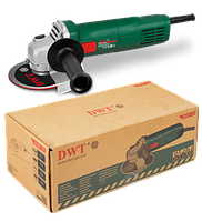 Угловая шлифовальная машина DWT WS06-125 ER