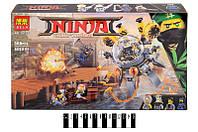 """Конструктор """"NINJA MOVIE"""" 121дет.в кор.38,8*22*6 см /36/(10725)"""