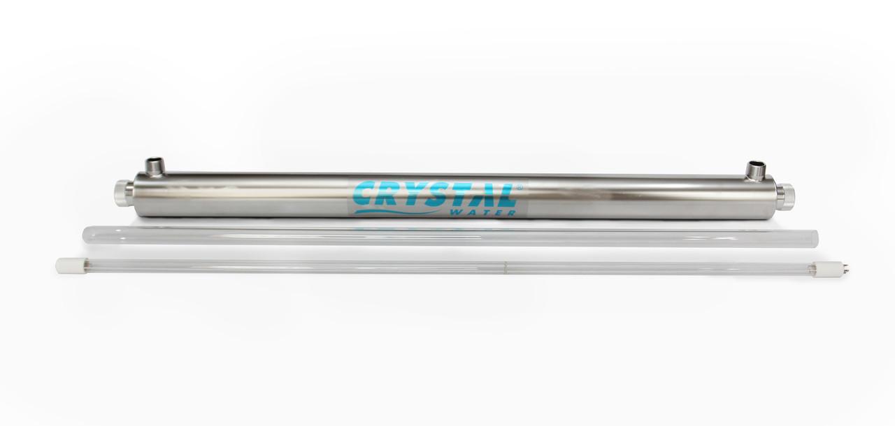 Ультрафіолетовий обеззаражувачі для води Crystal UV-10GPM