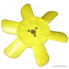 Крыльчатка радиатора ВАЗ-2101, 2102, 2103, 2104, 2105, 2106, 2107, 2121, 21213, 2131 Нива (6 лоп., желтая) |
