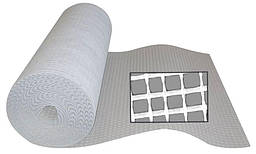 Стекловолоконная сетка с ячейкой 4х5 мм, обработанная щелочестойким аппретом. RETE IN FIBRA DI VETRO, 1м2