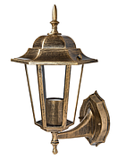 Садово-парковый светильник DeLux PALACE A001 черное-золото