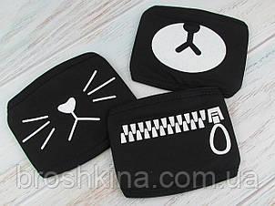 Защитная маска Аниме на лицо К-РОР оптом 3 шт/уп.