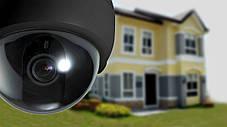 Муляж камеры видео наблюдения с мигающим диодом   Камера полусфера CAMERA DUMMY BALL 6688, фото 2