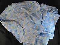 Пижама трикотажная детская, разные цвета, р. 98-122, 125\95