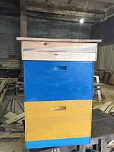 Вулик двохкорпусний 12 рамок  (300 мм) Улей  двухкорпусный 12-ти рамочный (300 мм)