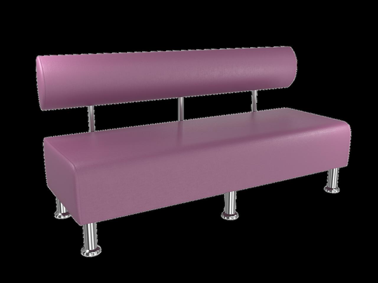 Диван BNB Solo1500x540x750 фиолетовый. Для школы, больницы, приемной, ожидания