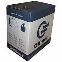 Кабель КПВ-ВП (100) U/UTP Сat.5e-SL, 4x2x(0,48CU), OK-Net, 305м