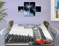 Самоклеющаяся декоративная пленка на стекло, 70 х 120 см