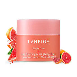 Ночная восстанавливающая маска для губ «Грейпфрут» Laneige Lip Sleeping Mask (Grapefruit), 20 g Корея