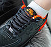 Женские кроссовки Nike Air Force Shadow Black/Hyper Crimson Hайк Аир Форс Шадоу низкие черные CQ3317-001, фото 5