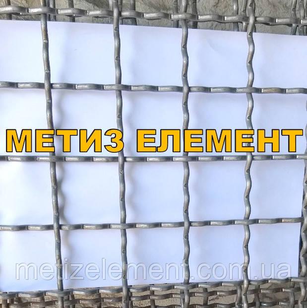 25x25x3,0 оцинкована сітка канілірована