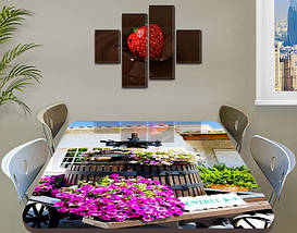 Виниловые наклейки на стол, 60 х 100 см, фото 3