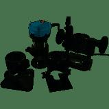 Фрезер-триммер 910Вт (столярный по дереву) (910 OFT 6-8 (4 бази)) Kraissmann