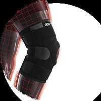 Стабілізуючий бандаж Dr.Frei на колін. суглоб з 4 спіральними ребр. жорст. S6058