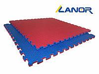 Мат-татами ласточкин хвост Lanor (80кг/м3) 25мм 1*1м