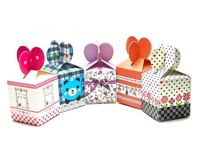 Подарочная коробка для небольших товаров