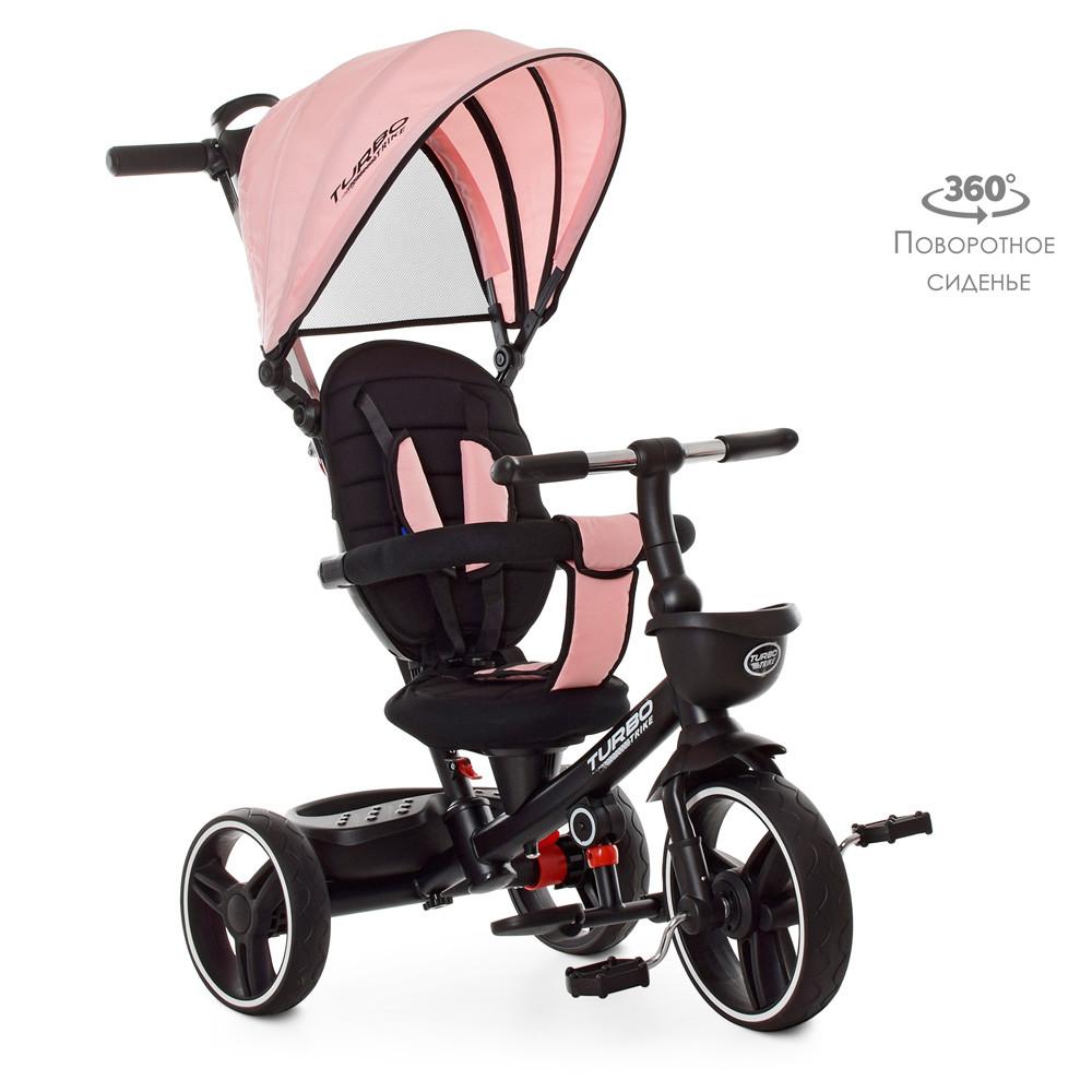 Трехколесный детский велосипед  Light Pink