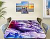 Виниловая наклейка на стол Ганеша Индия самоклеющаяся декоративная пленка, абстракция, фиолетовый 60 х 100 см, фото 2
