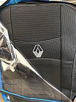 Чехлы на сиденья модельные (автоткань) Renault duster (рено дастер 2018+) деленный задний ряд,airbag, без подл