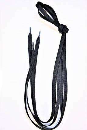 Шнурок плетений 154 чорний 100см(6мм), фото 2