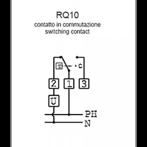 Механический комнатный регулятор температуры Cewal RQ 10, фото 2