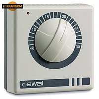 Механический комнатный регулятор температуры Cewal RQ 20