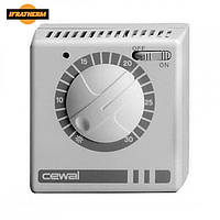 Механический комнатный регулятор температуры Cewal RQ 35