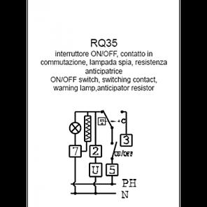 Механический комнатный регулятор температуры Cewal RQ 35, фото 2