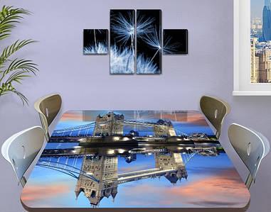 Пленка на стеклянный стол, 60 х 100 см