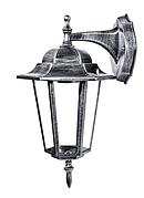Садово-парковый светильник DeLux PALACE A002 черное серебро