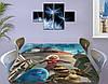Детская виниловая наклейка на стол Большой отрыв Боба, самоклеющаяся пленка декоративная, голубой 60 х 100 см, фото 4