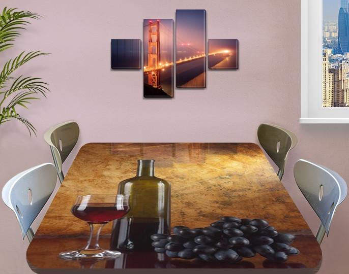 Защитная пленка на стеклянный стол, 60 х 100 см