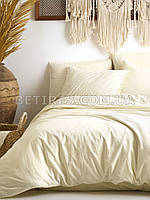 Комплект постельного белья 160x220 LIMASSO AKDENIZ KREMI STANDART кремовый