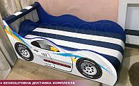 Кровать машина ПОЛИЦИЯ Hipe Drive  комплект от 1500х700, фото 1