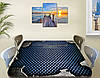 Виниловая наклейка на стол Металлически соты самоклеющаяся двойная пленка, серый 60 х 100 см, фото 2