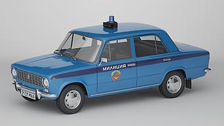 Автолегенды Милиция №5 ВАЗ-2101 «Жигули» | Спецвыпуск | Коллекционная модель 1:43 | Деагостини