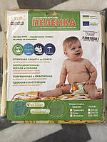 Непромокаемая детская пеленка ЭкоПупс Classic бязь, 65х90 см