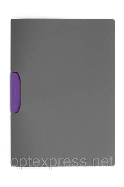 Папка клип-файл DURASWING® COLOR DURABLE на 30 листов фиолетовый клип