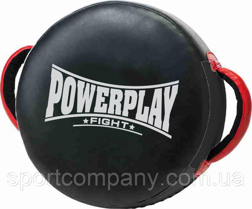 Маківара кругла PowerPlay 3080 Чорна PU (40*12см)