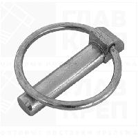 Шплинт DIN 11023 с кольцом, нержавеющий А2 , А4