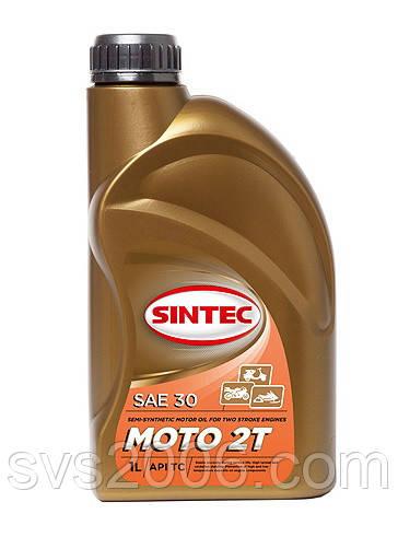 Масло моторное Moto 2T SINTEC 1л, п/синтетика
