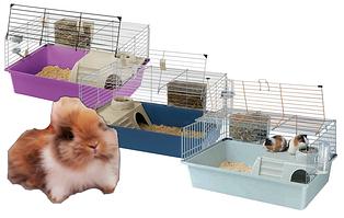 Клетки для карликовых кроликов и морских свинок